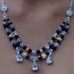Jet and Crystal AB Chocker